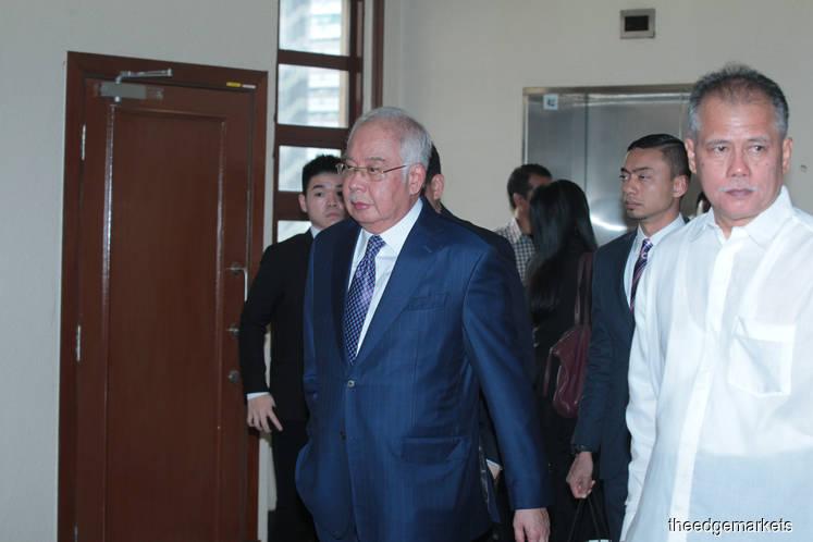 纳吉每年支付自己12万令吉为出任1MDB顾问委员会主席的薪酬